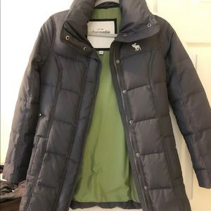Cute Girl Abercrombie & Fitch Puffer Jacket Med